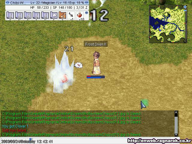 ChibiKnights com - Ragnarok Online: Beta Version